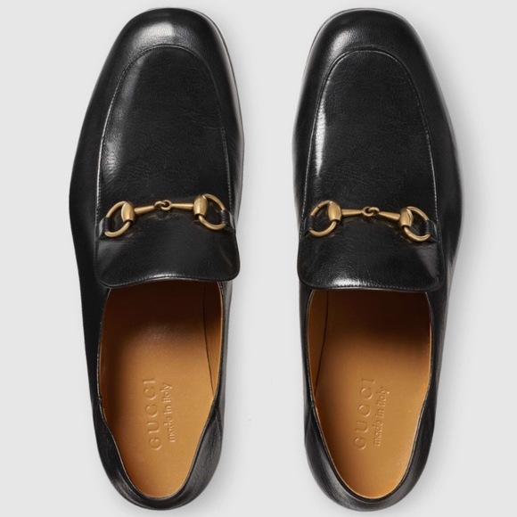 7930aaac038 Gucci Other - GUCCI Authentic New Black Horsebit Leather Loafer